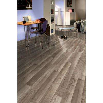 Tavern Monument Oak 8 mm Thick x 7-2/3 in. Wide x 50-5/8 in. Length Laminate Flooring (21.48 sq. ft. / case)
