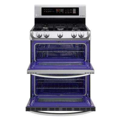 6.9 cu. ft. Double Oven Gas Range with ProBake Convection Oven and EasyClean in Stainless Steel