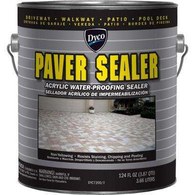Paver Sealer 1 gal. 7200 Clear Gloss Exterior Solvent Acrylic Sealer