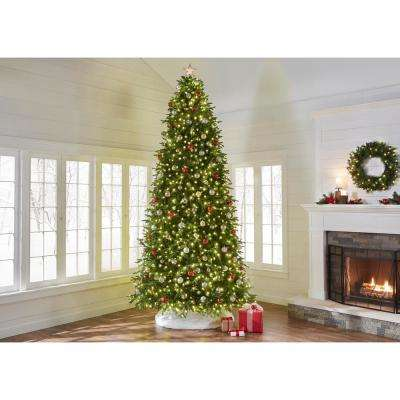 12 ft. Pre-Lit LED Monterey Fir Artificial Christmas Tree with 1,450 Sure Bright Color Changing Lights
