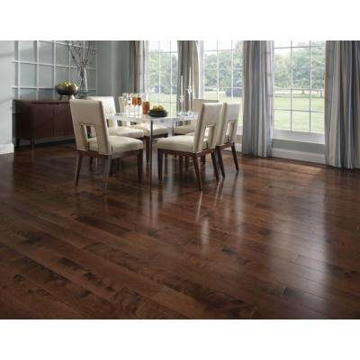 Canadian Northern Birch Cappuccino 3/4 in. T x 2-1/4 in. Wide x Varying Length Solid Hardwood Flooring (20 sq. ft./case)
