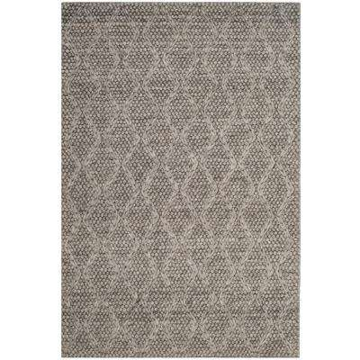 Manhattan Gray 4 ft. x 6 ft. Area Rug