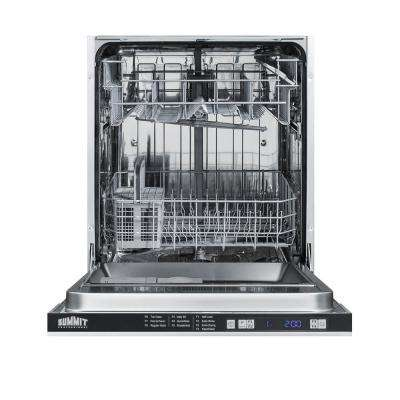 24 in. Top Control Dishwasher in Stainless Steel