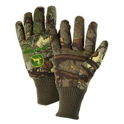 Cotton Jersey Light-Duty Grip Gloves