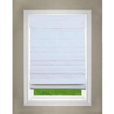 white roman blinds bedroom cordless fabric roman shade shades the home depot