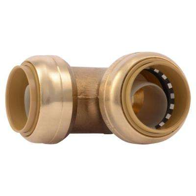 1 in. Brass Push-to-Connect 90-Degree Elbow
