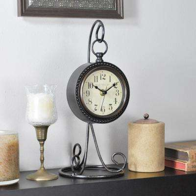 12.25 in. Charmed Table Top Clock