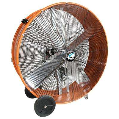 42 in. Industrial Heavy Duty 2-Speed Belt Drive PRO Drum Fan