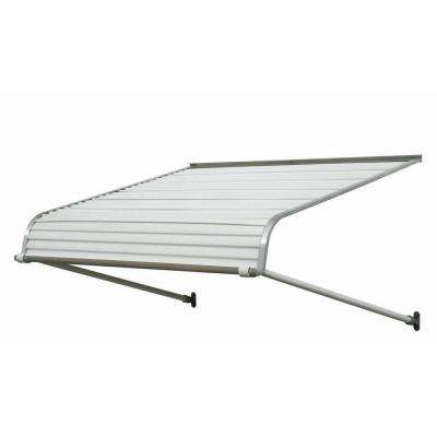 4 ft. 2500 Series Aluminum Door Canopy (16 in. H x 42 in. D) in White