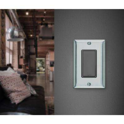 1-Gang Decora Wall Plate - Stainless Steel