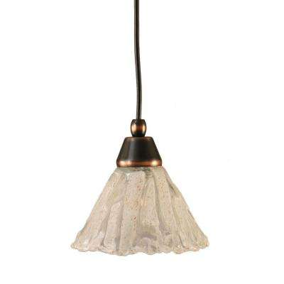 Concord 1-Light Black Copper Pendant