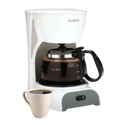32 oz Coffeemaker- White-DISCONTINUED