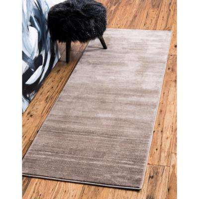 Uptown Collection by Jill Zarin™ Madison Avenue Brown 2' 2 x 6' 0 Runner Rug