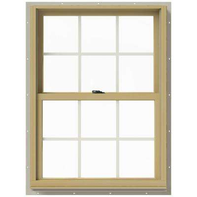 29.375 in. x 40 in. W-2500 Double Hung Aluminum Clad Wood Window