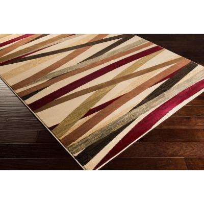 Sirene Beige 10 ft. x 13 ft. Indoor Area Rug