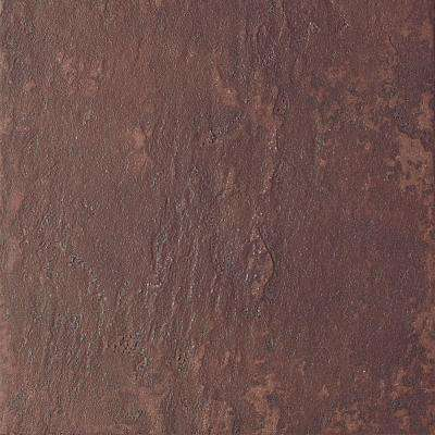 Continental Slate Indian Red 6 in. x 6 in. Porcelain Floor and Wall Tile (11 sq. ft. / case)