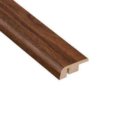 Coronado Walnut 1/2 in. Thick x 1-1/4 in. Wide x 94 in. Length Laminate Carpet Reducer Molding
