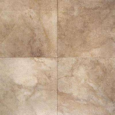 Portenza Terra di Siena 14 in. x 14 in. Glazed Porcelain Floor and Wall Tile (13.13 sq. ft. / case)