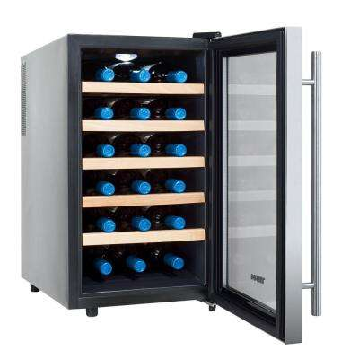 18-Bottle Single Zone Thermoelectric Wine Cooler