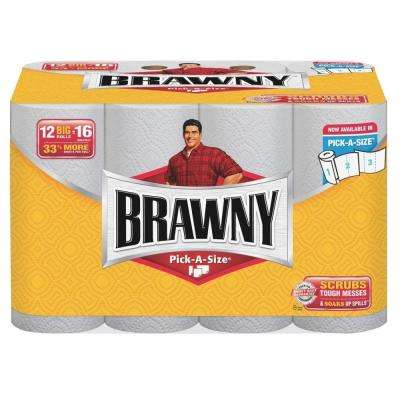 Paper Towels 2-Ply (102 Sheets per Roll 12/Pack)