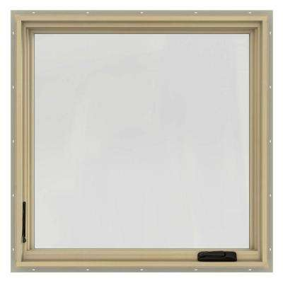 36.75 in. x 36.75 in. W-2500 Left-Hand Casement Wood Window