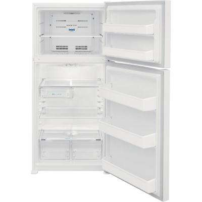 18.3 cu. ft. Top Freezer Refrigerator in White