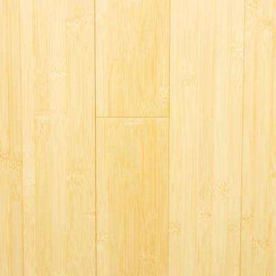Natural Medium 5/8 in. Thick x 3-3/4 in. Width x Varying Length Horizontal Bamboo Flooring (23.80 sq. ft./case)