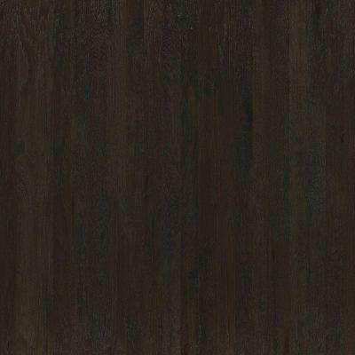 Take Home Sample - Hand Scraped Western Hickory Leather Engineered Hardwood Flooring - 5 in. x 7 in.
