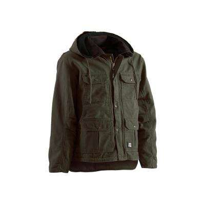 Men's 100% Cotton Washed Contractor Coat