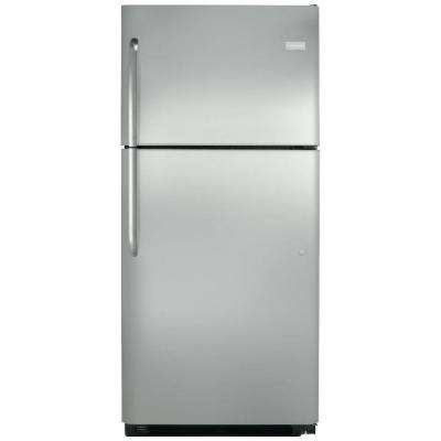 Frigidaire 20 cu. ft. Top Freezer Refrigerator in Stainless Steel