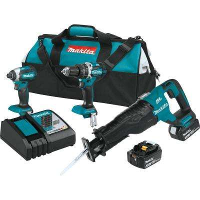 18-Volt LXT Lithium-Ion Cordless Combo Kit (3-Tool)