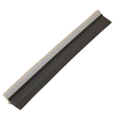 Gara-Bottom 2 in. x 57 in. Vinyl Garage Door Weather Strip Seal