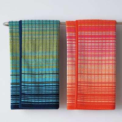 Ripple Stripe Cotton Bath Towel