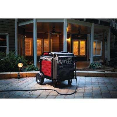 Ultra Quiet 7000-Watt Gasoline Powered Inverter Electric Start Generator