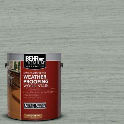 1-gal. #ST-149 Light Lead Semi-Transparent Weatherproofing Wood Stain