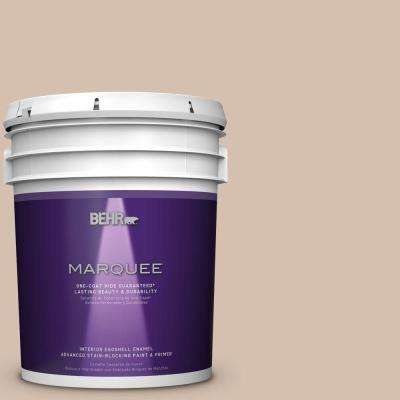 5 gal. #MQ2-36 Elusive Dawn One-Coat Hide Eggshell Interior Paint