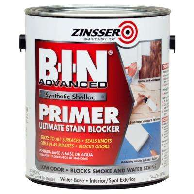 B-I-N Advanced White Synthetic Shellac Interior/Spot Exterior Primer and Sealer