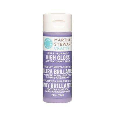 2-oz. Purple Yam Multi-Surface High Gloss Acrylic Craft Paint