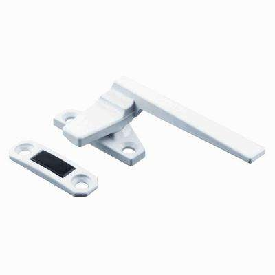White Right-Handed Casement Locking Handle