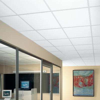 YUMA WHITE 2 ft. x 2 ft. Lay-in Ceiling Panel (Case of 16)