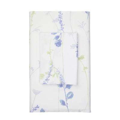 Penfield Floral 400-Thread Count Fitted Sheet