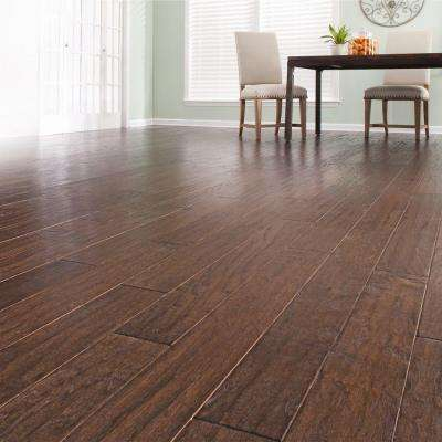 Hickory Chestnut 3/8 in. Thick x 4-3/4 in. Wide x Random Length Engineered Click Hardwood Flooring (22.5 sq. ft. / case)