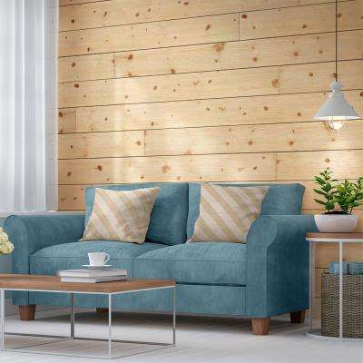 1 in. x 8 in. x 6 ft. Barn Wood Shiplap Pine Board (6-Pack)