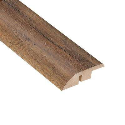 Newport Oak 1/2 in. Thick x 1-3/4 in. Wide x 94 in. Length Laminate Hard Surface Reducer Molding