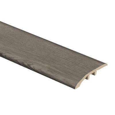 Satin Oak 5/16 in. Thick x 1-3/4 in. Wide x 72 in. Length Vinyl Multi-Purpose Reducer Molding