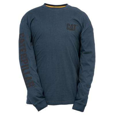 Trademark Banner Men's Cotton Long Sleeved T-Shirt