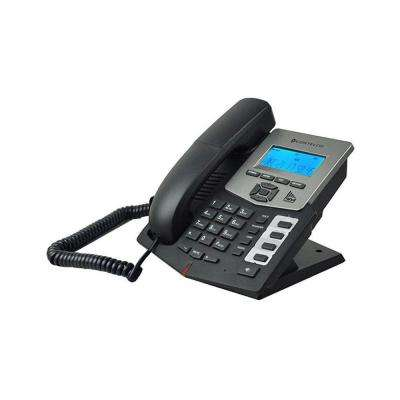 SIP 2.0 Corded Entry Level Telephone with 4 DSS