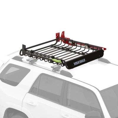 140 lbs. Capacity LoadWarrior Weather Resistant Steel Roof Cargo Basket