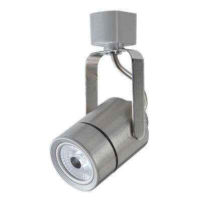 4.5 in. Nickel LED Dimmable Track Lighting Head