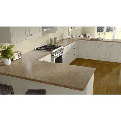 2 in. x 3 in. Laminate Countertop Sample in Sedona Bluff with HD Mirage Finish